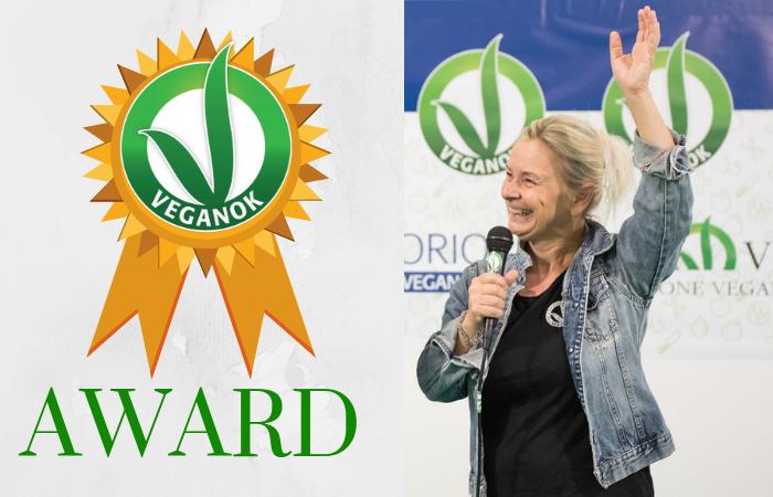 VEGANOK Award